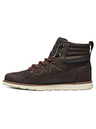 Quiksilver Acllas - Boots en Cuir pour homme AQYB700017 Marron - Brown/Black/Brown