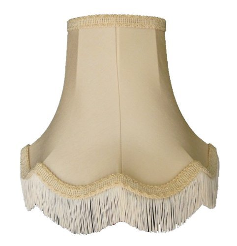 Premier Lampshades 22 Inch Elizabeth Cream Fabric Lamp Shades