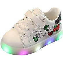Zapatos Niña,JiaMeng Zapatilla de Deporte para Correr Zapatos de bebé para niñas Zapatos Luminosos