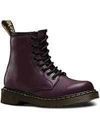 Dr.Martens Kids Delaney 8-Eyelet T Lamper Leather Boots