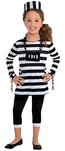 Fancy Ole - Mädchen Girl Karneval Kostüm Trouble Maker, Schwarz, Größe 164-176, 14-16 ()