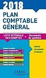 Plan comptable général 2018 - 22e éd. - Plan de comptes & documents de synthèse: Plan de comptes & documents de synthèse (dépliant séparé)