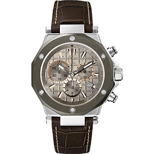 Guess Reloj Cronógrafo para Hombre de Cuarzo con Correa en Cuero X72026G1S
