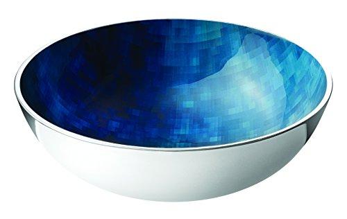 Stelton 451-11 Stockholm Schale, Durchmessser 200, klein, Aluminium mit kalter Emaille, horizon, 21 x 8 x 21 cm