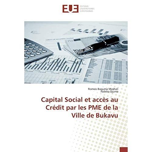 Capital Social et acces au Credit par les PME de la Ville de Bukavu