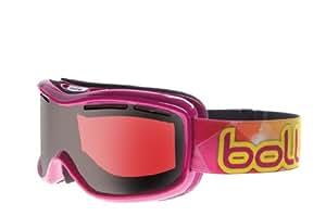 Bollé Women's Monarch Ski Goggle - Raspberry Frame Modulator Citrus Gun Lens