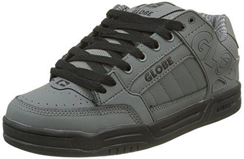 Globe Tilt, Sneaker Uomo, Nero (Charcoal/black), 45