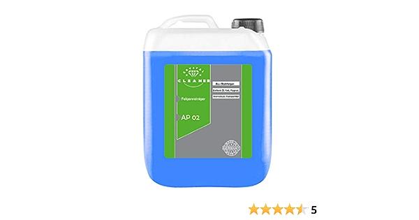 Cleanerist 5 Liter Felgenreiniger Ap02 Für Alufelgen Stahlfelgen Säurefrei Auto