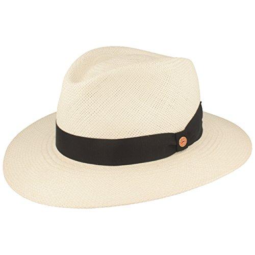 ORGINAL Panama-Hut | Stroh-Hut | Sommer-Hut aus Ecuador – Handgeflochten, UV-Schutz 30, Wasserabweisend, Bruchschutz