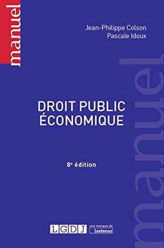 Droit public économique, 8ème Ed.