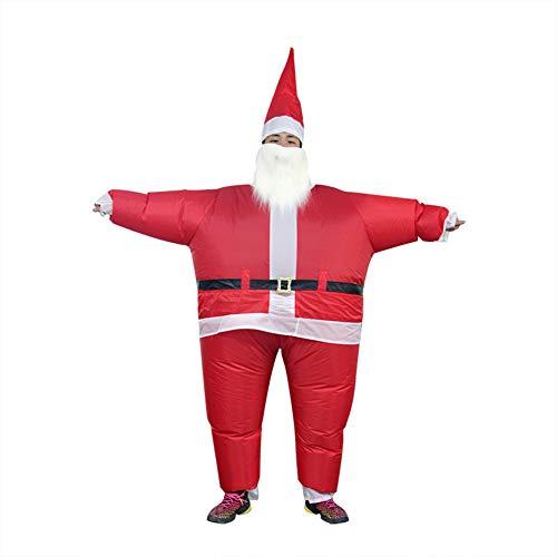 Aufblasbare T Rex Kostüm Santa - LTSWEET Erwachsene Inflatable Santa Costume