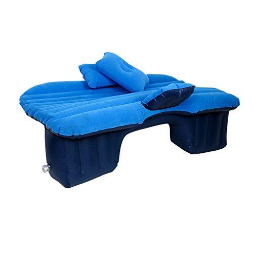 XY&CF Auto Luft Bett Aufblasbare Matratze Sitzkissen Reise Camping Outdoor Couch Blau