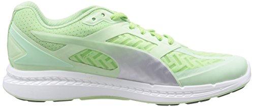 Puma Ignite Powercool women Running Shoes Jogging 188078 02 green patina green-silver metalic