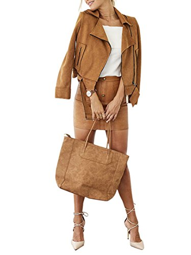 berrygo-womens-fashion-suede-zipper-belted-moto-leather-jacket-light-tan