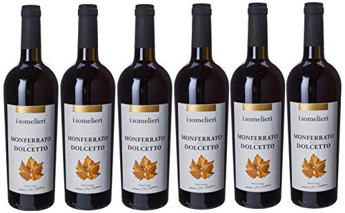I Somelieri Monferrato Doc Dolcetto - Confezione da 6 X 750 ml
