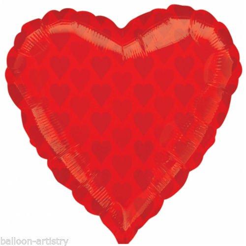 x 22Folienballons in Herzform ()