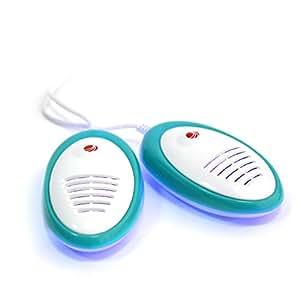 Timson UV-LiteDry Medic - Antibakterieller Elektrischer Schuhtrockner mit UV-Licht, 35, Weiss