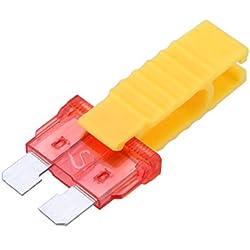 pince a fusible jaune - TOOGOO(R) Outillage de l'Automobile pince a fusible outil de l'Extraction pour fusible de voiture(jaune)