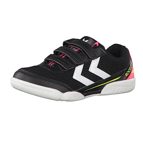 Hummel Kinder Handballschuhe Root Jr Velcro III 60515 Safety Yellow/Black