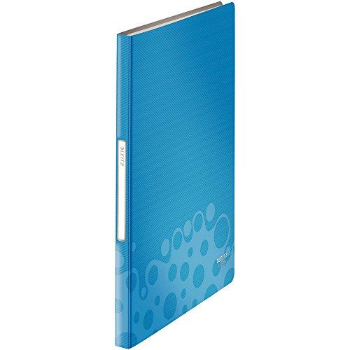 Leitz 45650037 Bebop Sichtbuch (Polyproplyen, A4, 40 Hüllen) blau
