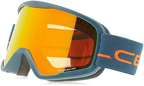 Cébé Striker Skibrille, Mat Petrol Orange, L
