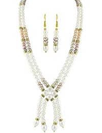 Trendy Souk -- Magnificent Real Pearls Necklace Set