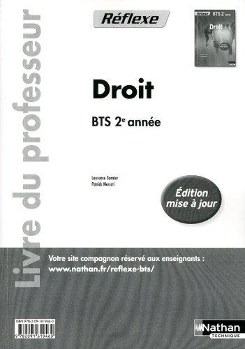 Droit - BTS 2e année par Marie-Hélène Bonifassi, Laurence Garnier, Patrick Mercati