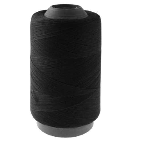 sourcingmap® Bobina da cucito di filo nero in cotone - Bobine Di Cucito