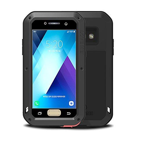 Samsung Galaxy A52017A520case, Feitenn Extreme ibrido armatura in lega di alluminio gomma morbida militare Heavy Duty custodia rigida antiurto per SanSung A520A52017 Cruz V2 Fresh Foam