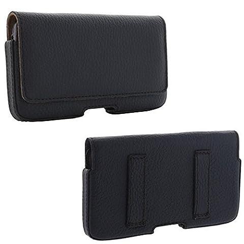 XiRRiX Echt Leder Quer Handytasche 2.2 mit Gürtelschlaufe - Tasche