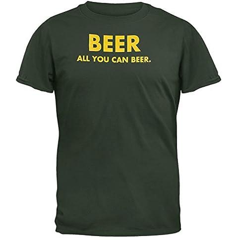 Old Glory, da uomo, tutte di birra Beer T-Shirt