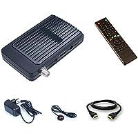 Mini Digitaler Satelliten Receiver HD mit 2x USB + IR Empfangsauge