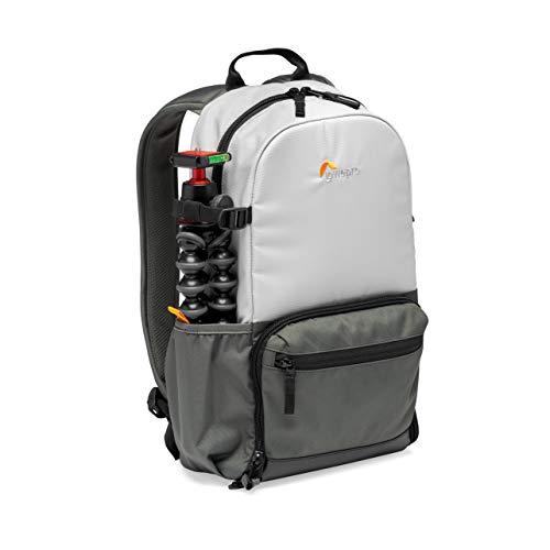 Lowepro LP37234-PWW Truckee BP 150 LX Outdoor-Kamerarucksack, für 10-Zoll-Tablet, Einstiegs-DSLR/spiegellose Kamera, Sony, Canon, Nikon, zweites Objektiv, Gimbal, Drohne, DJI, Osmo, Mavic, hellgrau