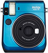 Fujifilm Instax Camera Mini 70 Camera, Blue