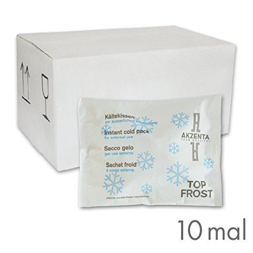 10 Kälte-Sofort-Kompressen Kältekompresse Kühlkompresse 14 x 18 cm