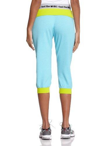 Zumba Fitness Maxin'- N- Relaxin' Pantacourt Femme Zumba Deep Blue Sea