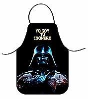 Grembiule Star Wars Darth Vader. Grembiule molto originale e divertente per quei cuochi speciali. Se si desidera proteggere da schizzi durante la cottura e di essere il più divertente cuoco questi grembiuli sono indispensabile nella vostra cu...