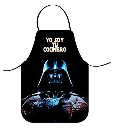 COVERBAGBCN Delantal Star Wars/Darth Vader