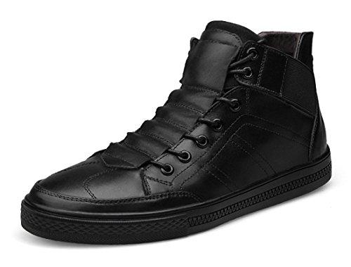 TDA - Pantofole a Stivaletto uomo , nero (Black), 42.5