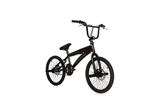 Moma - BMX Bicicletta Freestyle 360 Full Disc, colore: nero