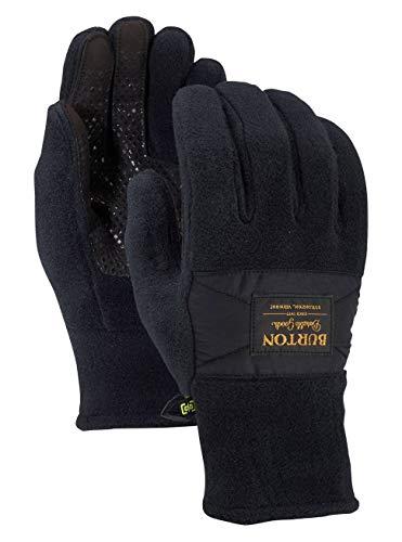 Burton Herren Ember Fleece Snowboardhandschuhe, True Black, XL - Winter Herren Handschuhe Burton