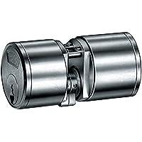 Breve Cilindro massiccio in ottone nichelato opaco dopo D, LUNGHEZZA TOTALE  mm 3000251435