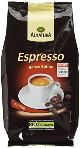 Alnatura Bio Espresso, ganze Bohne, 1er Pack (1 x 500 g)