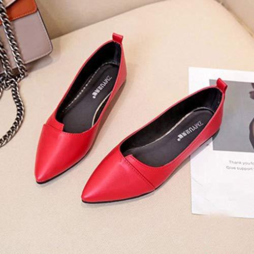 Damen Mokassin Bootsschuhe Leder Loafers Zeigte Fahren Flache Schuhe Halbschuhe Tierdruck Slippers Erbsenschuhe Klassische Übergrößen Hochzeit Abiball