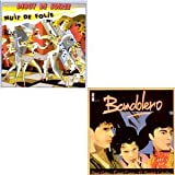 Nuit de Folie - Paris latino - Special reissue CARD SLEEVE REMIXES 6-track - 1) Nuit De Folie 2) Nuit De Folie (Longue) 3) Belles Belles Belles (Remix) 4) Refrain D'enfer (Remix) BANDOLERO 5) Paris Latino vocal 6) Cocoloco (Maxi) - CD single