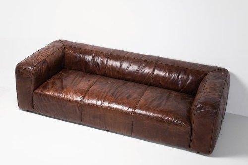 KARE Ledersofa Cubetto 3-Sitzer Leder - 4