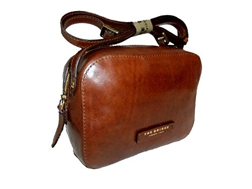 The Bridge Plume Soft Donna Borsa a tracolla pelle 24 cm Marrone
