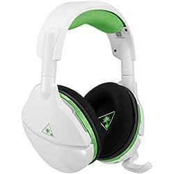 Turtle Beach Stealth 600 Blanco - Auriculares gaming con Sonido Envolvente Inalámbricos para Xbox One