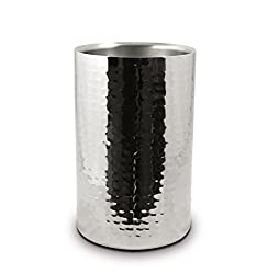 Aarrt Double Wall Wine Cooler, Stainless Steel