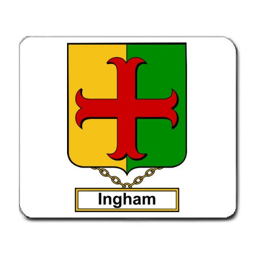 ingham-family-crest-coat-of-arms-mouse-pad